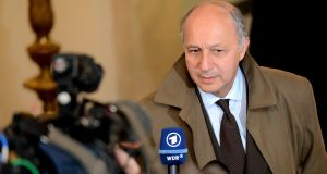 French foreign minister Laurent Fabius said he had immediately summoned the US ambassador following the spying allegations. Photograph: Cyril Byrne/Irish Times