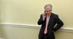 Sean Fitzpatrick was declared a bankrupt in 2010. Photograph: Bryan O'Brien/Irish Times