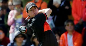 Rory McIlroy is looking to make up ground in the coming weeks and make the field for the season-ending finale in Dubai .