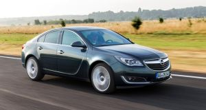 The new Opel Insignia. Opel is hoping the marque will power the car maker's resurgence