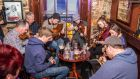 A Sligo Live trad session in McHughs. Photograph: Declan Courell