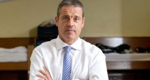 Midleton College principal Simon Thompson: 'I think there is a growing awareness that should schools like ours move to the free scheme, there is going to be a real additional annual cost to the State.' Photograph: Daragh McSweeney/Provision