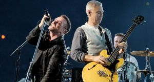 U2's new song Ordinary Love was specially written for Nelson Mandela biopic A Long Walk To Freedom,  so it is unclear whether or not it will appear on the new U2 album. Photograph: Kevin Winter/Getty Images