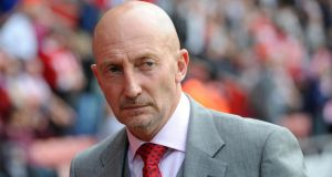 Ian Holloway has reportedly left Crystal Palace. Photograph: Daniel Hambury/PA Wire