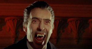 Christopher Lee in Hammer's vision