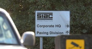 SIAC Construction Ltd and eight related companies, including the ultimate parent company in the 100-year-old giant construction group, have secured court protection to allow for preparation of a survival scheme. Photograph: Dara Mac Donaill/The Irish Times