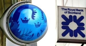 Royal Bank of Scotland and Barclays declined at least 1.5 per cent each. Photograph: PA Wire