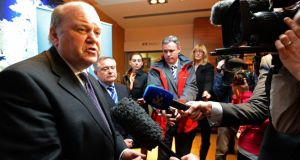 New figures released by Minister for Finance Michael Noonan this week showed cuts in tax relief for private pension funds that would provide pensions of over €60,000 per annum will yield far less revenue for the State than anticipated. Photograph: Eric Luke/The Irish Times