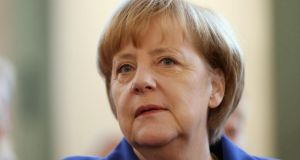 Angela Merkel: she and European Commission president José Manuel Barroso discussed the Berlin-Brussels standoff during his visit to Berlin this week