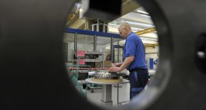 Stronger growth in Germany's manufacturing sector was encouraging, Markit said.
