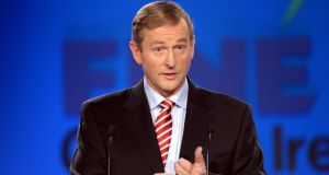 Taoiseach Enda Kenny said the EU meeting would give him a chance to brief his  European counterparts on the situation in Ireland. Photograph: Alan Betson/Irish Times