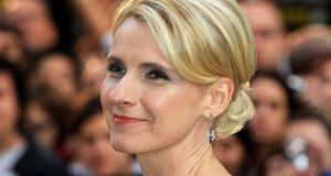 Author Elizabeth Gilbert at a film premiere in London. Photograph:  Chris Jackson/Getty Images