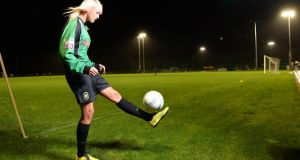 Stephanie Roche of Peamount United FC. Photograph: Dara Mac Dónaill