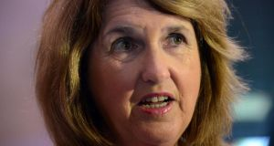 Minister for Social Protection Joan Burton said last week long-term social welfare dependency must be prevented as the economy recovers. Photograph: Cyril Byrne/The Irish Times