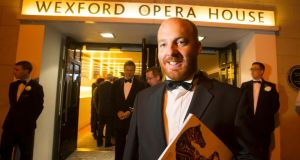 Eoin Butler at opening night of Wexford Festival Opera. Photograph: Patrick Browne