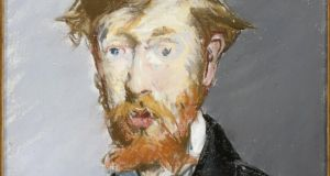 George Moore (1852-1933) by Édouard Manet