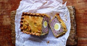 Paul Hollywood's raised pork and egg pie