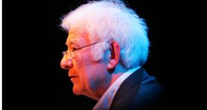 Seamus Heaney: he  took up  invitation from British poet laureate  Carol Ann Dufy to choose a poem from the first World War and respond to it with a poem of his own.