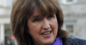 Social Protection Minister Joan Burton: her counsel denied she had acted unfairly