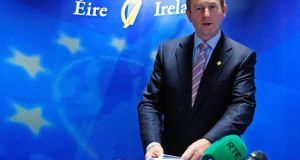 "Taoiseach Enda Kenny said at the end of the EU summit in Brussels other leaders had expressed a ""range of views"" to him on the merits of a credit line.  I"