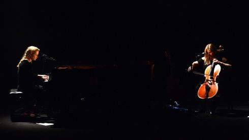 Agnes Obel performing at Vicar Street on Thursday night. Photograph: Cyril Byrne / The Irish Times