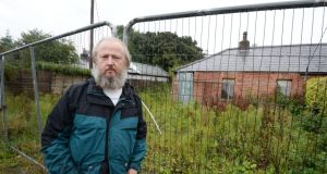 John Cantillon: suing Dublin City Council, Ireland and the Attorney General for allegedly failing to compensate him when the council compulsorily purchased his house four years ago. Photograph: Alan Betson
