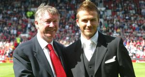 Alex Ferguson says David Beckham's football was affected by his celebrity lifestyle in his new and controversial autobiography.