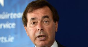 Alan Shatter has defended direct provision on the basis it provided a roof over the head of all asylum seekers. Photographer: Dara Mac Dónaill/The Irish Times