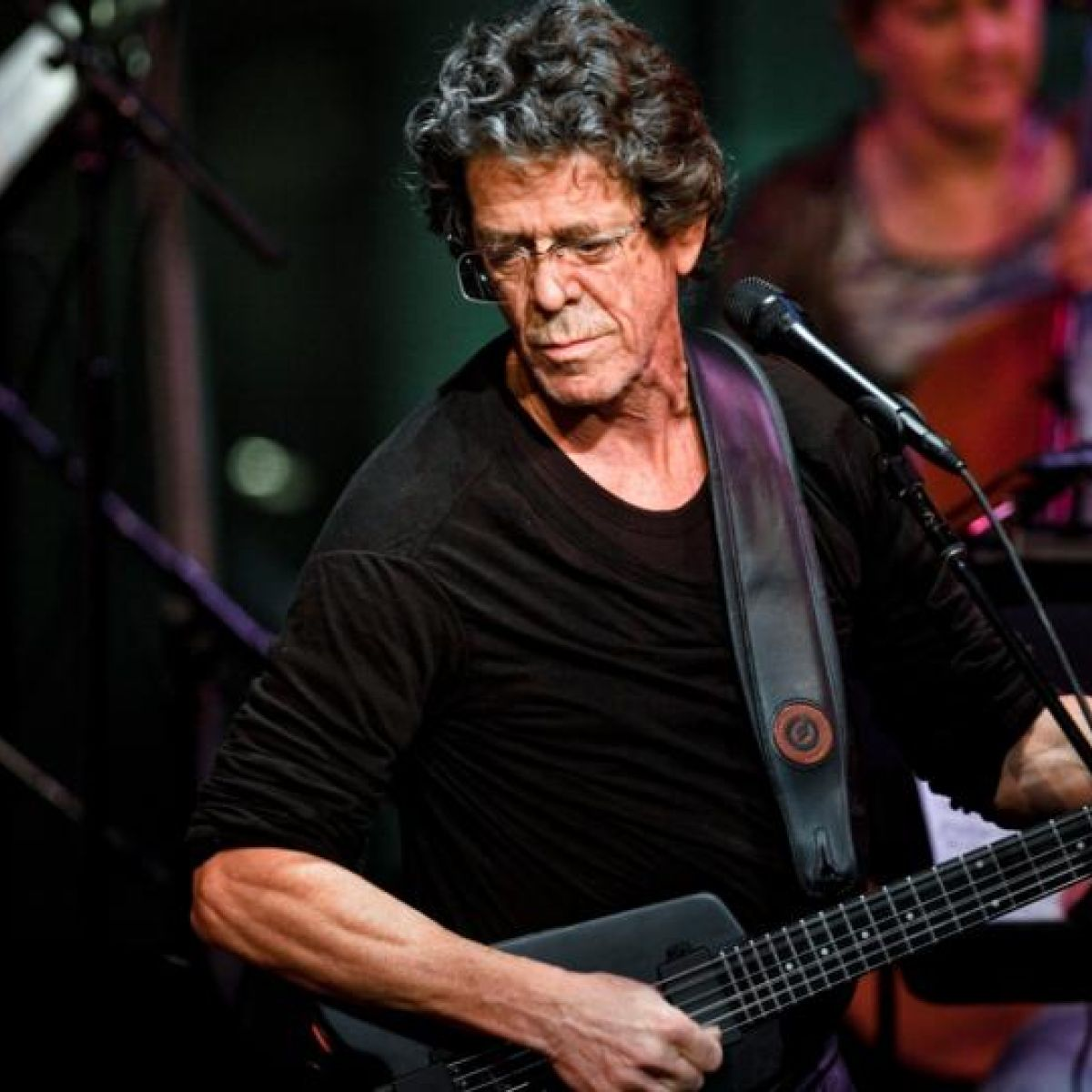 Cult musician Lou Reed who walked on wild side