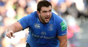 Leinster prop Martin Moore was one  of four players added to the Ireland training squad at Carton House. Photograph: Ryan Byrne/Inpho