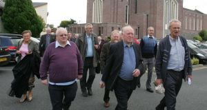 Priests arriving for a meeting of the Association of Catholic Priests. It commisiioned a review of the Murphy commission