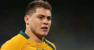 James O'Connor (23) made his Wallabies debut as an 18-year-old. Photograph: Paul Kane/Getty Images
