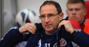 Crystal Palace have held initial talks with Martin O'Neill and Tony Pulis as they step up their search for a new manager. Photograph: Michael Regan/Getty
