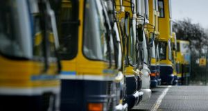 Management at Dublin Bus is expected to announce today the date for the implementation of a controversial cost-containment plan for the company. Photograph: The Irish Times