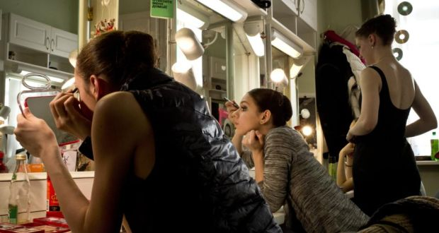 Striking poses behind the scenes at the ballet montagues and capulets young ballerinas from the perm and other russian companies prepare for a fandeluxe Choice Image