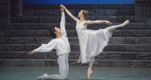 Montagues and Capulets: principal dancers Ruslan Savdenov and Natalia Domratcheva in the Perm production of Romeo and Juliet