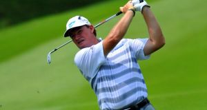Ernie Els  during the CIMB Classic at Kuala Lumpur Golf and Country Club.