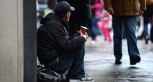 Welfare policies must ensure that the vulnerable do not bear a disproportionate share of the burden, the lead author of the WHO report said. Photograph: Cyril Byrne