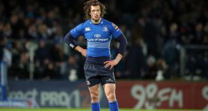 Zane Kirchner will make his first start for Leinster at fullback away to the Dragons. Photograph:  Dan Sheridan/Inpho