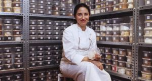 Chef Elena Arzak pictured in her spice cellar in San Sebastian,  is one of the judges for the Euro-toques Ireland young chef of the year final