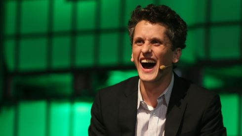 Aaron Levie founder and CEO of Cloud computing company Box. Photographer: Niall Carson/PA Wire