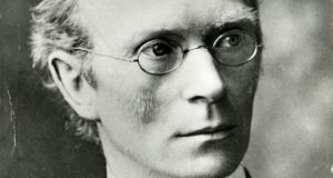 Eoin MacNeill said in 1914: 'I have been absolutely forced to the front in this Volunteer movement.'