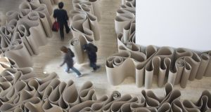 Navigating the art world: gallery visitors shouldn't face bamboozling language. Photograph: Rodney Zandbergs/Lonely Planet/Getty