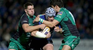 Leinster's Shane Jennings will lead the charge into the Dragons' den at Rodney Parade.