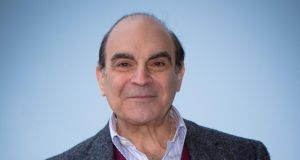 True to character: David Suchet. Photograph: Didier Baverel/WireImage
