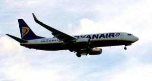 Ryanair drifted slightly on the Irish Stock Exchange, closing at €6.10, its performance weakening ahead of results on Monday. Photograph: Rui Vieira/PA Wire