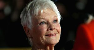 Judi Dench, star of the movie Philomena, which tells the story of Philomena Lee. Photograph Tim P Whitby/Getty.