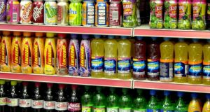 A 20 per cent tax on sugary drinks in the UK would cut the nation's obesity rate by 1.3 per cent. Photograph: PA Wire