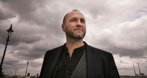 Writer Colum McCann photographed at Sandymount in Dublin. Photograph: Alan Betson/The Irish Times