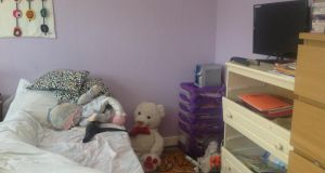 Aoife's room before . . .